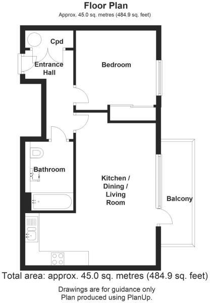Abbey Street, Cambridge, Cambridge floorplan